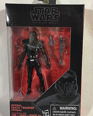 "Star Wars The Black Series 3 3/4"" Imperial Death Trooper Action Figure  New"