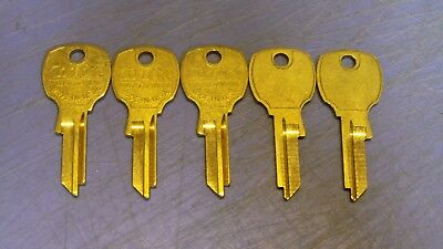 5 – CompX National Mail Box 4 Pin Key Blanks - for Codes 4000PS-4999 PS, D4301.