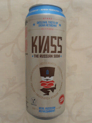 Kvass The Russian Soda Dose  BRD (2016) 0,5l Can Germany