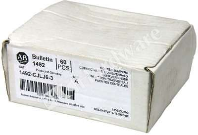Box of 54 New Allen Bradley 1492-CJLJ6-3 /A Plug-In Center Jumper 6mm 3 Pole