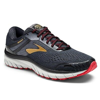 Brooks Adrenaline GTS 18 Men's Black/Gold/Red multiple sizes New In Box