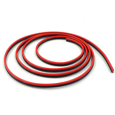 2Meters Welding Cable Wire For 3D Printer Hotbed Heating Bed Heatbed Red & Black