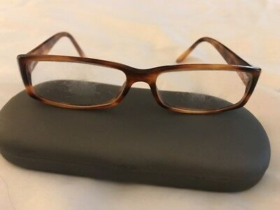 b952a3ff4c VINTAGE VERSACE TORTOISE Eyeglasses Made In Italy -  11.00