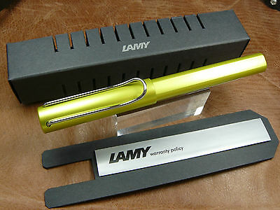 Lamy Al-Star Aluminum Roller Ball  2016 Special Edition Charged Green  L352