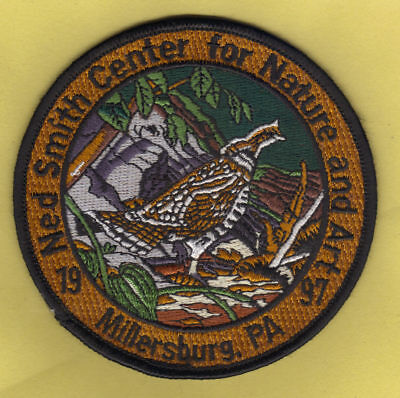 """Pa Pennsylvania Game Fish Commission NEW 4/"""" 2007 Ruffed Grouse Game Bird Patch"""
