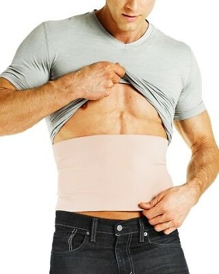 New Tommie Copper Compression Men's Recovery Muscle ReliefCore Band M/Nude
