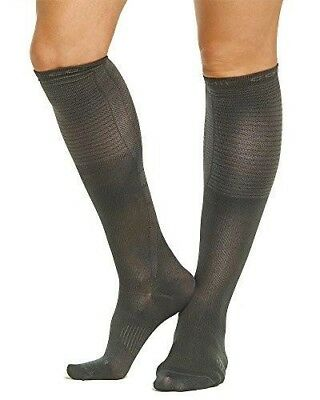 NEW Tommie Copper Women's Recovery Dress Over The Calf Socks, S 4-6.5, Charcoal