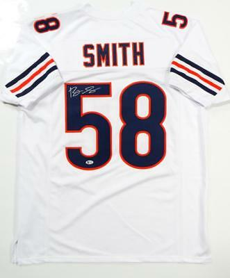 bee05612daf Roquan Smith Autographed White Pro Style Jersey- Beckett Authenticated