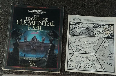 Advanced Dungeons & Dragons The Temple Of Elemental Evil T1-4 9147 Tsr Ad&d
