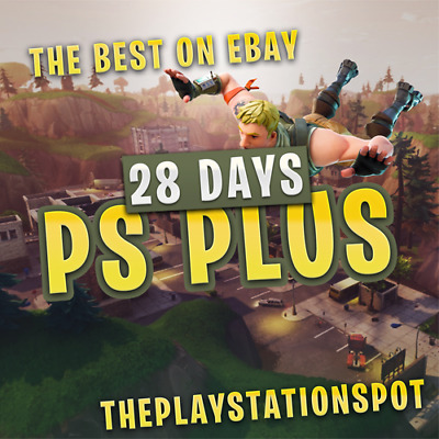 Ps Plus 28 Days Ps4 Ps3 Ps Vita - Fast Delivery - Sent Now (No Code)