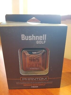2018 Bushnell Phantom GPS Black Rangefinder for Golf