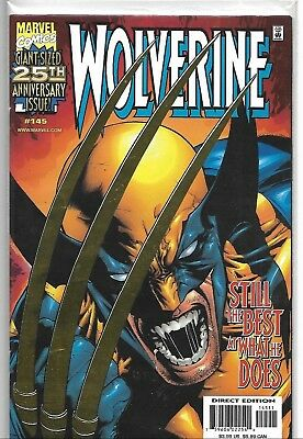 Wolverine 145 Gold & Silver Foil Claws Variants (2 Copies) NM 9.8 Super Rare