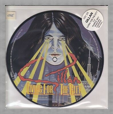 GILLAN - Living for the City - 7'' Picture Disk Single / Ian Gillan /Deep Purple
