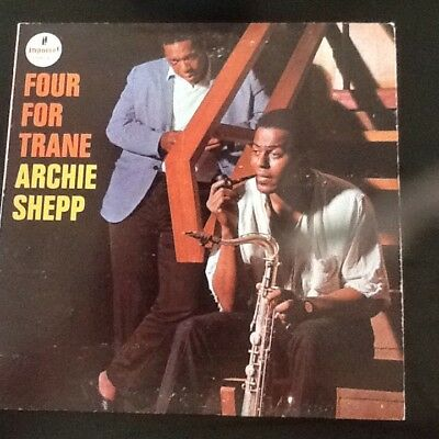Archie Shepp - Four For Trane - Impulse Gatefold