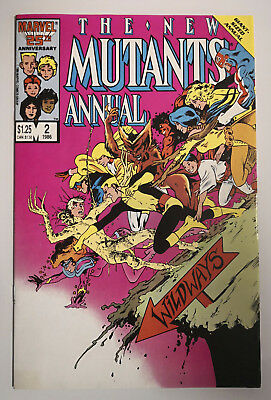 New Mutants Annual 2 First appearances of Psylocke and Meggan 1986 US MARVEL KEY