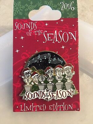 DLR Disney Haunted Mansion Sounds Of The Season Pin