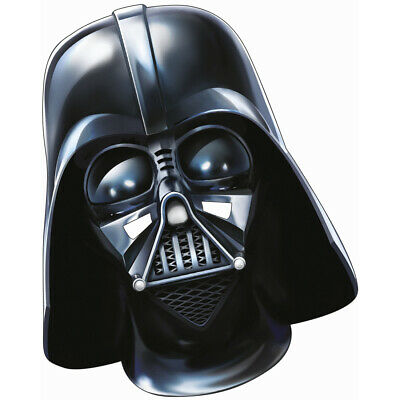 Lord Vader Pappmaske Star Wars Darth Vader Movie Maske für Kinder Kriegermaske