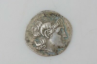 Greek Kingdom of Thrace Lysimachus AR Drachm. Alexandria Troas 297 BC.