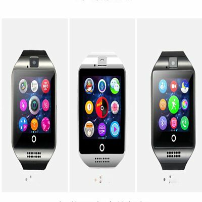 Q18 Bluetooth Smart Watch Support TF SIM Card Camera Sleep Monitor Pedometer HY