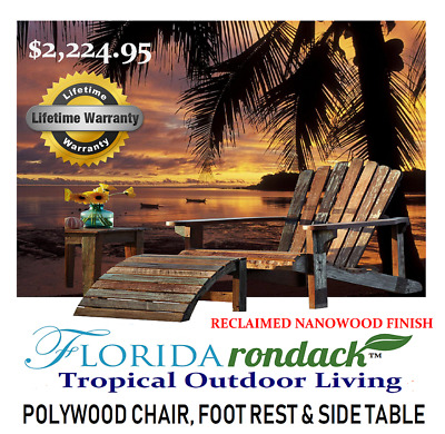 Boat Dock Outdoor Floridarondack Poly Wood Chair Aged Nano Fusion Unique Design