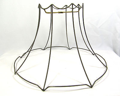 LAMP SHADE WIRE Frame Large for Table Floor Hanging Custom Hand Made ...