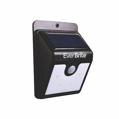 (2 Pack) Ever Brite BRITE-MC4 Motion-Activated Solar Power LED Light Outdoor R2