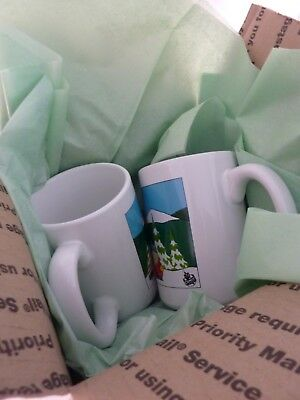 (2) South Park The Whole Gang Coffee Cup Mug Comedy Central RARE 1997
