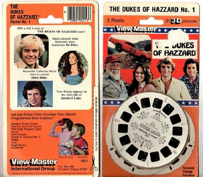 View Master Reels 1980 3D Dukes of Hazzard Sealed Unopened
