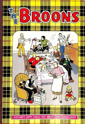 THE BROONS BOOK - 1971, dc thomson, Good Condition Book, ISBN