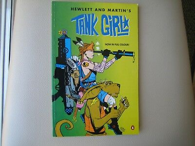 Hewlett & Martin's Tank Girl 1995 Penguin Books adult comic book