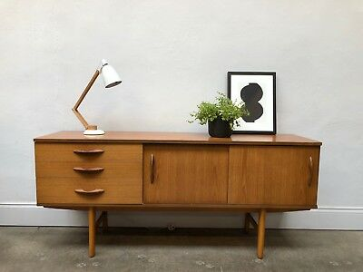 Vintage 60s 70s Avalon Teak Sideboard. Danish Retro G Plan. DELIVERY AVAILABLE