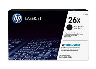 NEW HP CF226X 26x High Yield Toner Cartridge Genuine