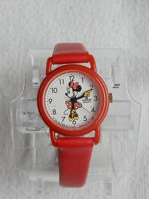 """LORUS Quartz """"Mickey & Friends"""" MINNIE MOUSE Watch - NEW in package - Never used"""