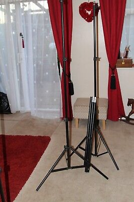 Photographic Tripod Stands And Tubular Beam