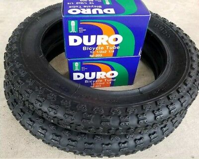 VEE  RUBBER BICYCLE TIRES 12  1//2 X 2  1//4 WHITE WALLS TWO 40 PSI 2 62-203