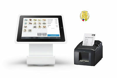 Square Stand Point Of Sale Pos Bundle Kit With Printer For Ipad 2 3 Tsp650