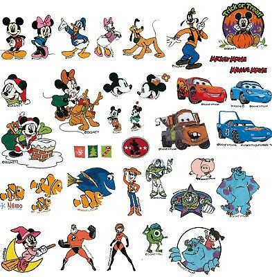 69000 RARE EMBROIDERY DESIGNS FOR BROTHER PE-DESIGN Inc DISNEY PES READY PATERNS