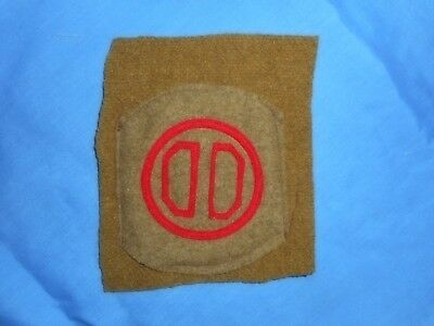 WWI 31st Infantry Division Large Wool patch. original.