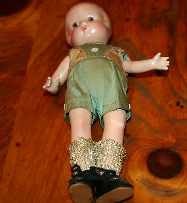 """9 """" tall, composition   Effanbee Patsyette doll"""