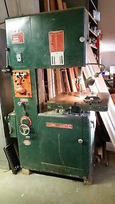 Powermatic model 87 Vertical Metal Cutting Bandsaw  With  Welder,Grind & Shear