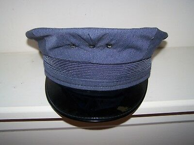 Vintage Firefighters/Police Uniform Hat size 6 7/8 great  condition.