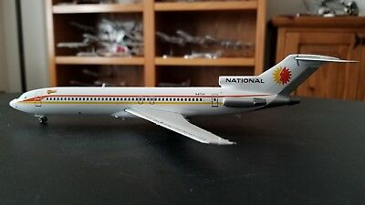 Gemini Jets 200 Die Cast National Airlines Boeing 727-200 1:200 Scale With Stand