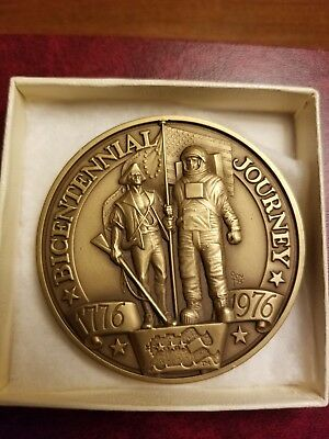 Vintage 1776 1976 American Freedom Train Bicentennial Journey Medal