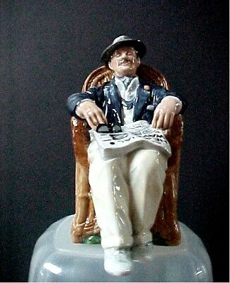 """Royal Doulton Figurine Taking Things Easy HN 2677  6-3/4"""" tall  Mint Condition"""