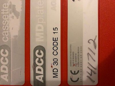 Agfa Adcc Hr Md 30 Code 15 X-Ray Oncology Film Cassette 43X35 (51168)