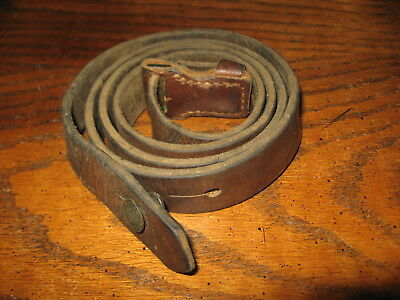 Yugo brown leather mauser sling m48 k98 8mm BK