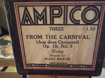 AMPICO player roll-From the Carnival---70523