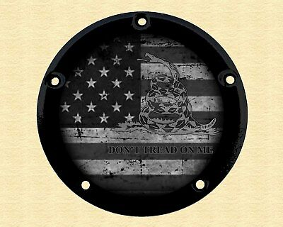 Harley Davidson Narrow Profile Derby Cover 2016-2019 Touring Only Dont Tread On