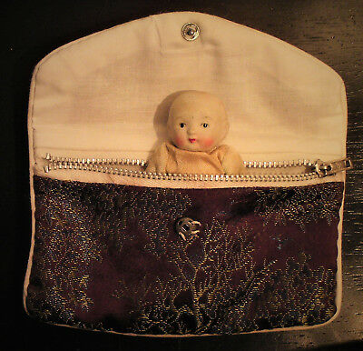 """Circa 1920's Bisque Doll """"Made in Japan"""""""