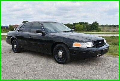 2003 Ford Crown Victoria Police Interceptor 4dr Sedan (3.27 axle) 2003 Ford Crown Victoria Police Interceptor - LOW RESERVE - Stock#15942
